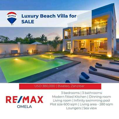 Full Furnished Luxury Beach Villa For SALE. image 1