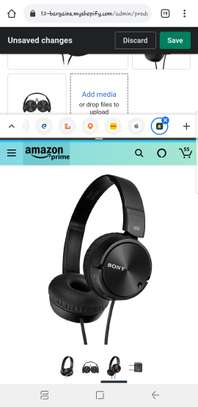 Sony MDRZX110NC Noise Cancelling Headphones image 2
