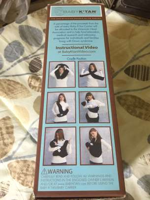 Baby Wrap Carrier image 6