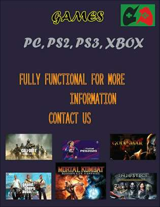 Pc,ps2,ps3 Games
