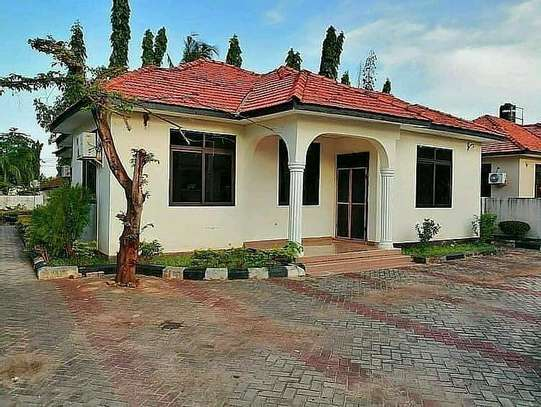 a 3bedrooms standalone house is for rent at mbezi beach kwa zena or near shoppers plaza image 1