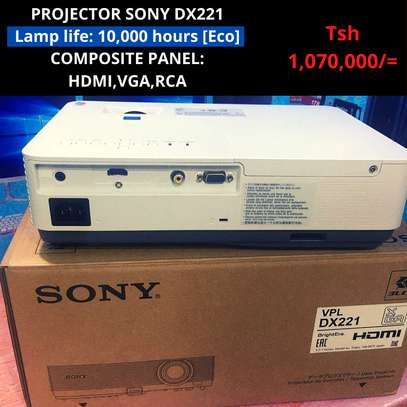 PROJECTOR SONY DX221 image 3