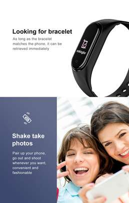 Rovtop M4 Smart band 4 Fitness Tracker Watch image 11
