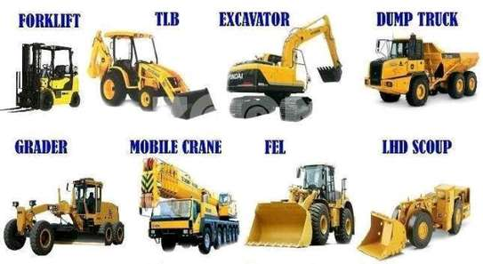 Cranes & forklifts for rent