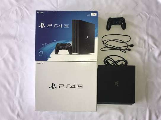 Sony PlayStation 4 Pro 1TB 4K Console and PS4 VR Headset Bulk