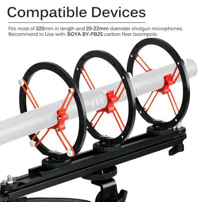 BOYA BY-WS1000 Microphone Blimp Windshield Suspension System image 4