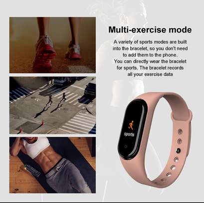 Rovtop M4 Smart band 4 Fitness Tracker Watch image 7