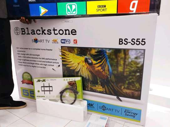 NEW BLACKSTONE 55 INCH SMART ANDROID 4K....950,000/= image 3