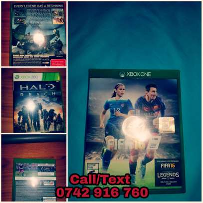 Xbox1 and Xbox360 CDs