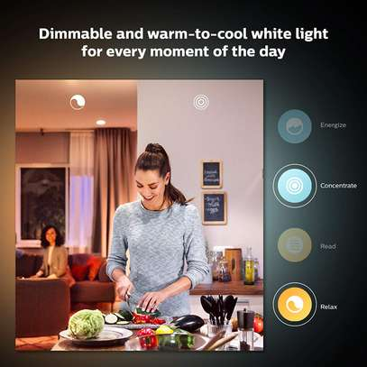 Philips Hue White Ambiance Smart E27/B22 LED | Bluetooth, Works with Alexa and Google Assistant image 6