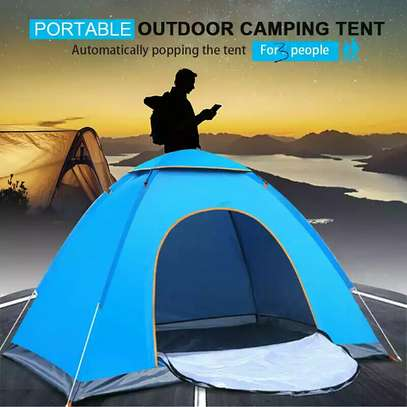 Portable Camping Tent-(150cm×200cm) for 3 people image 1