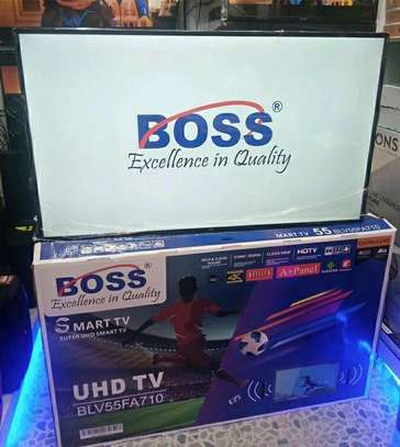 BOSS TV SMART 4K DOUBLE GLASS AVAILABLE image 1