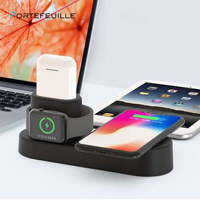 Wireless Phone Fast Charging Doc 4 in 1 image 3