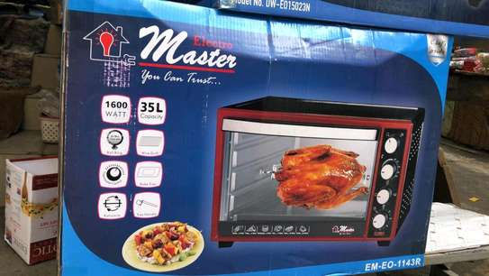 Electro Master Electric Oven 35L Table Top EM-EO-1143-35r image 2