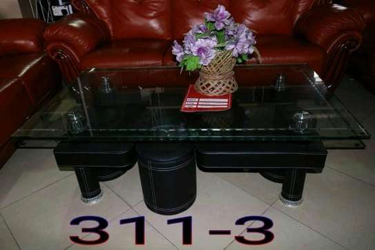 GLASS COFFEE TABLE....330,000/= image 1