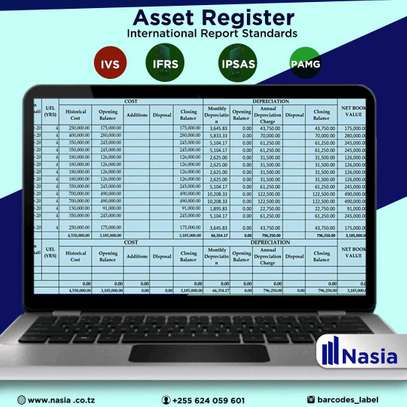 FIXED ASSET REGISTER