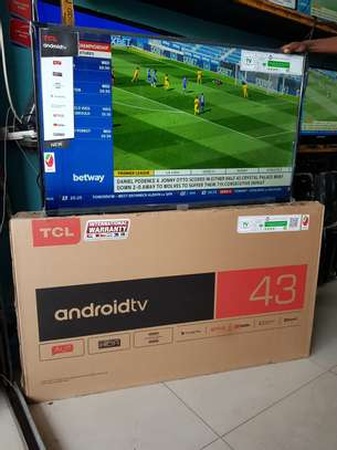 TCL  SMART ANDROID TV 43 INCHES image 1