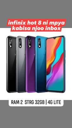 Infinix hot 8 | 2gb ram - 32gb strg | new | DODOMA image 1