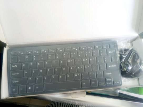 Mini Wireless Keyboard and a Flexible Keyboard.