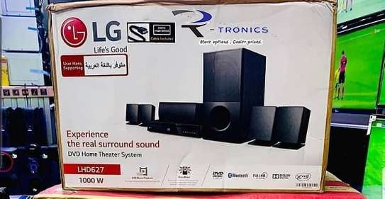LG Home Theater System DVD HTS LHD627 (1000 Watts) image 1