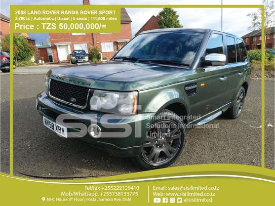2008 Land Rover Range Rover Sport image 1