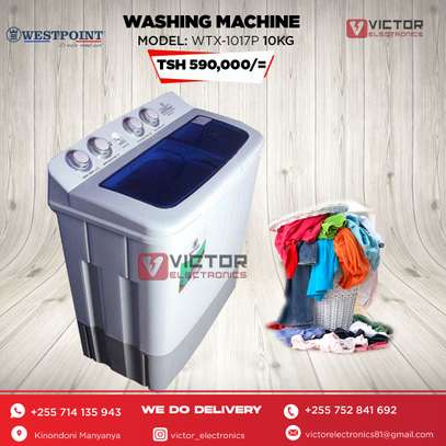 WESTPOINT WASHING MACHINE 10Kg WTX.1017 image 1