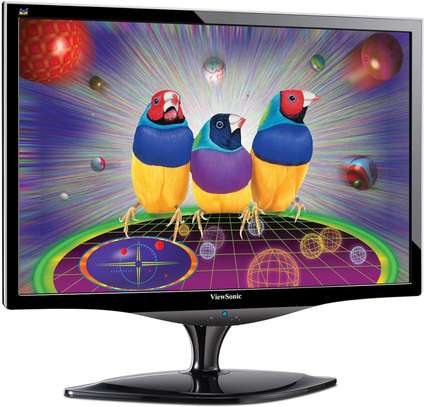 Viewsonic VX2268WM 22 inch 3D Ready Monitor 120Hz Frequency with Speakers - Black