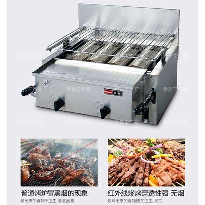 Rinnai Infrared Gas Griller (Lower Flame Type)
