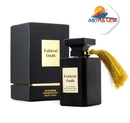 Fakhurul Outh - Oud Fragrance - Wood scent Spray for Men by Al  Aneeq Perfumes ( 100 Millimeter eau de Parfume) image 1
