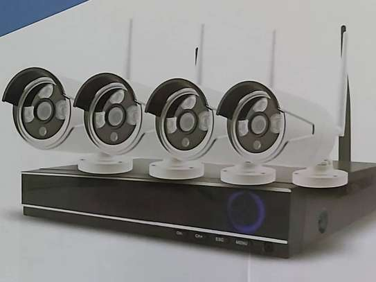 Wireless CCTV system HD 4 channel