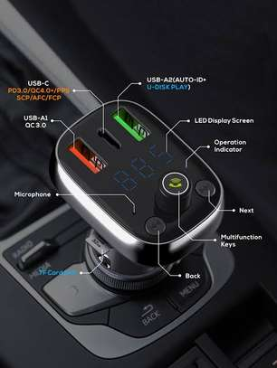 Ldnio car bluetooth and fast charger image 3