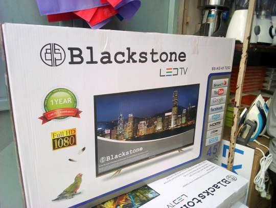 BRAND NEW BLACKSTONE 32 INCH DOUBLE GLASS SMART ANDROID....355,000/= image 1