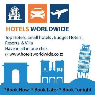Top Hotels, Small hotels , Budget Hotels ,Resorts ,Villa - Have in all in one click @ www.hotelsworldwide.co.tz