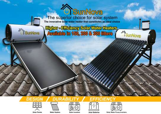 Solar Water Heaters image 1