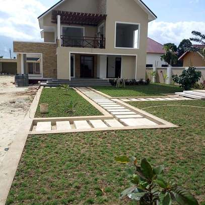 3  BDRM SEMI-FINISHED HOUSE WITH A SERVANTS' QUARTER  AT BAHARI BEACH, DAR ES SALAAM. image 5
