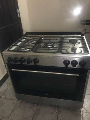 Beko 5 Burner Stove with Electric Oven image 2
