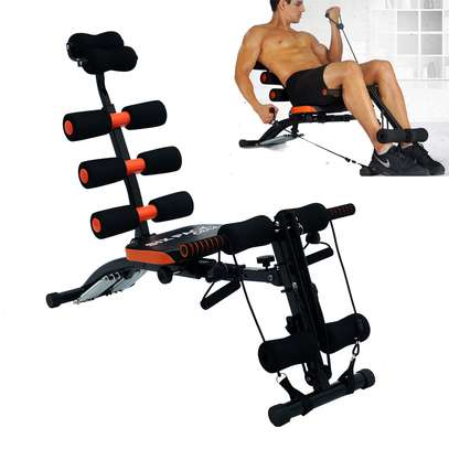 Home Gym Six Pack Exercise Bench image 2