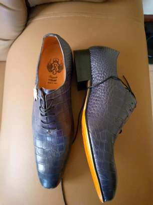 Pure Leather Shoes From Italy image 1