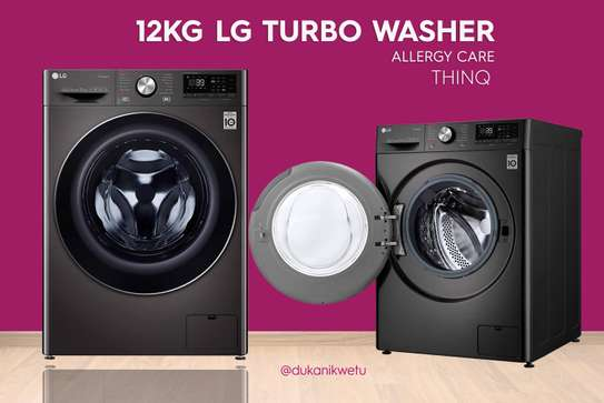 12KG LG WASHING MACHINE AUTOMATIC FRONT LOAD image 1