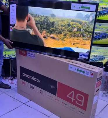 TCL ANDROID SMART TV 49 INCH