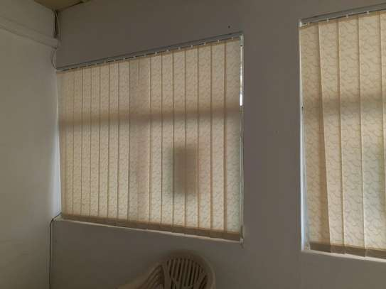CURTAIN BLINDS- Cream Colour Vertical blinds image 2