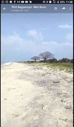 beach plot at saadani bagamoyo 10 acre  for sale $1.5milion