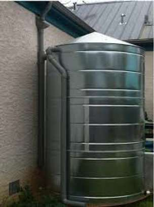 STAINLESS STEEL TANKS ROUND SHAPE image 2
