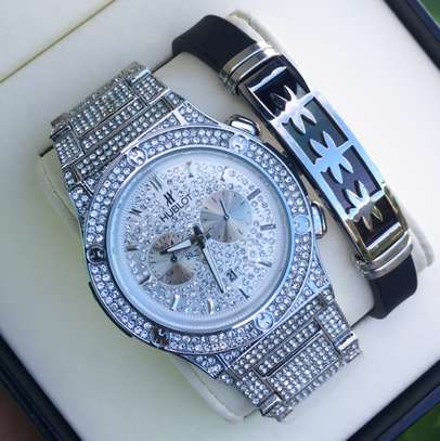 Full Iced Hublot Watch