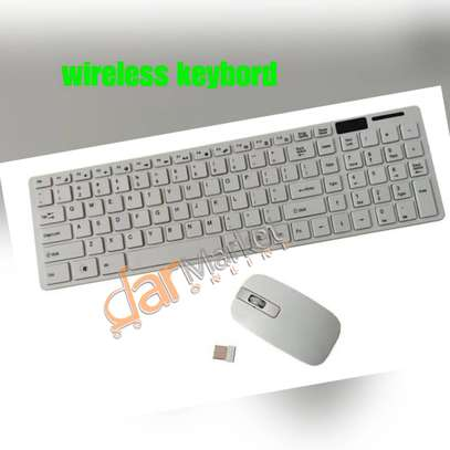 Wireless keybord & mouse image 3