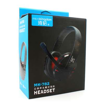 Headphones microKingdom mk-782 black image 1