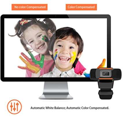 Web Camera 720P PC Camera USB HD Webcam Video Record with Microphone for Laptop Skype MSN image 6
