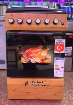 Euron 4 Gas Cooker & Electric Oven image 1