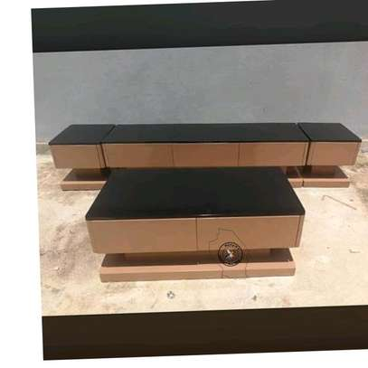 Tv stand with coffee table image 1