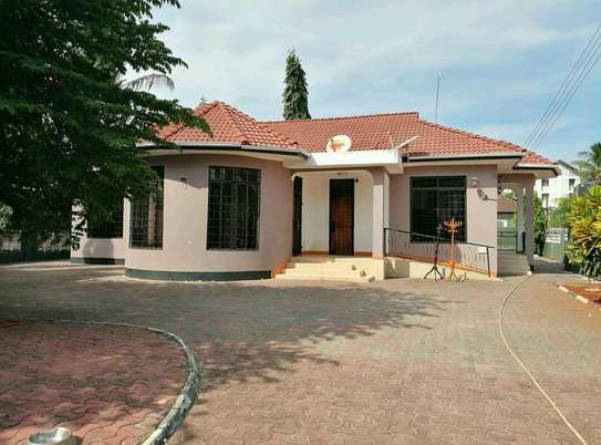 a standalone house is for rent at mbezi beach